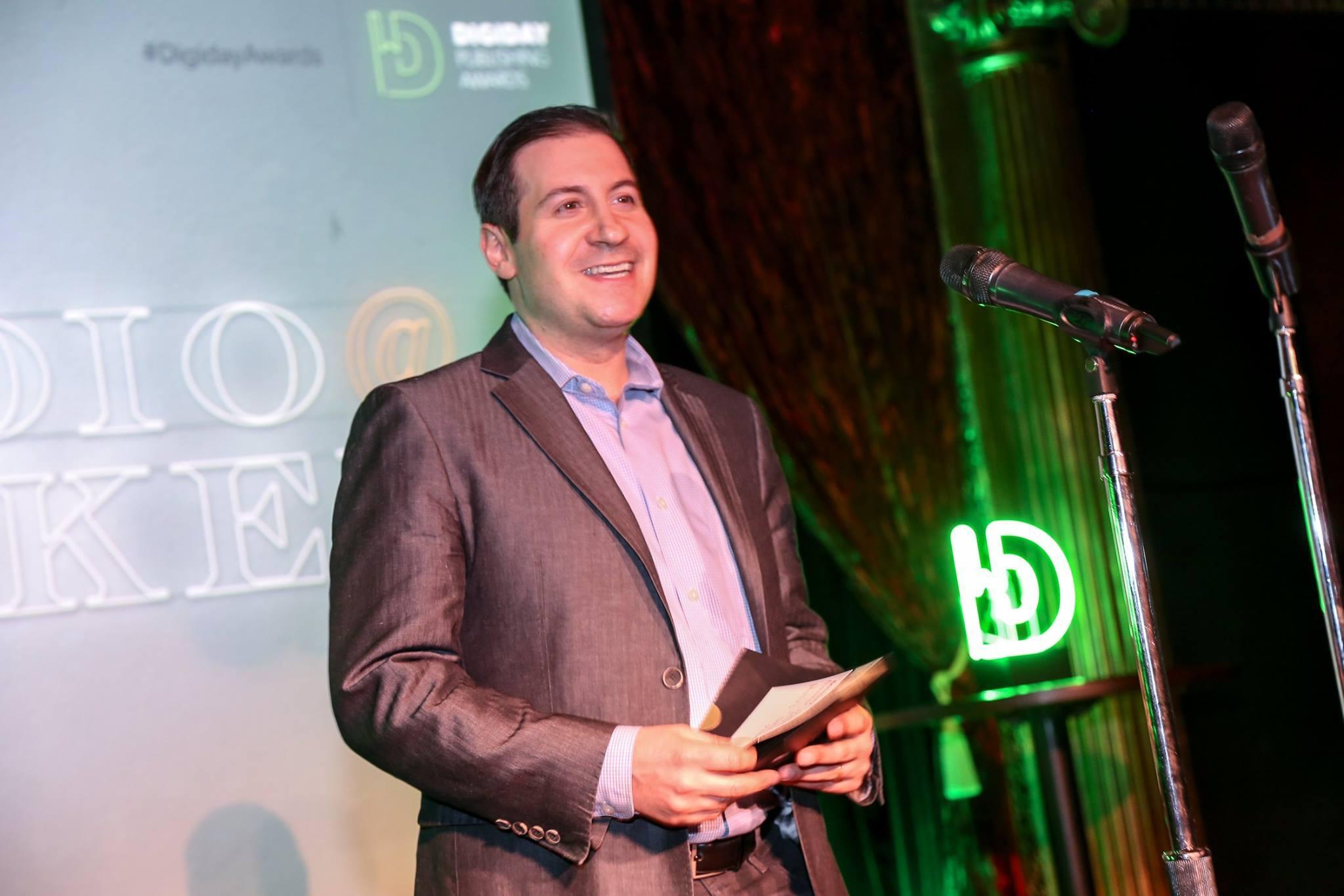 Bidtellect - Craig Aron Digiday Awards