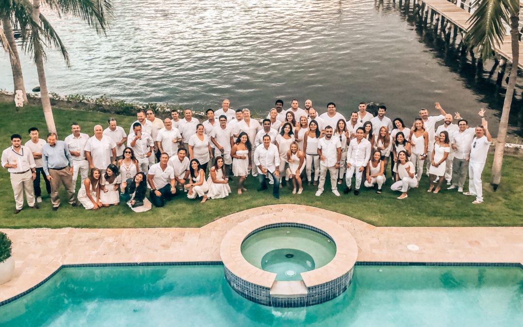 Bidtellect Team - 2019 White party