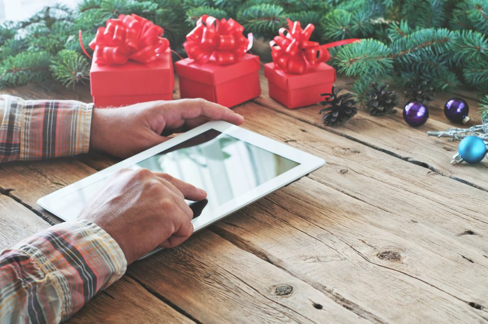 Holiday Advertising - Tablet