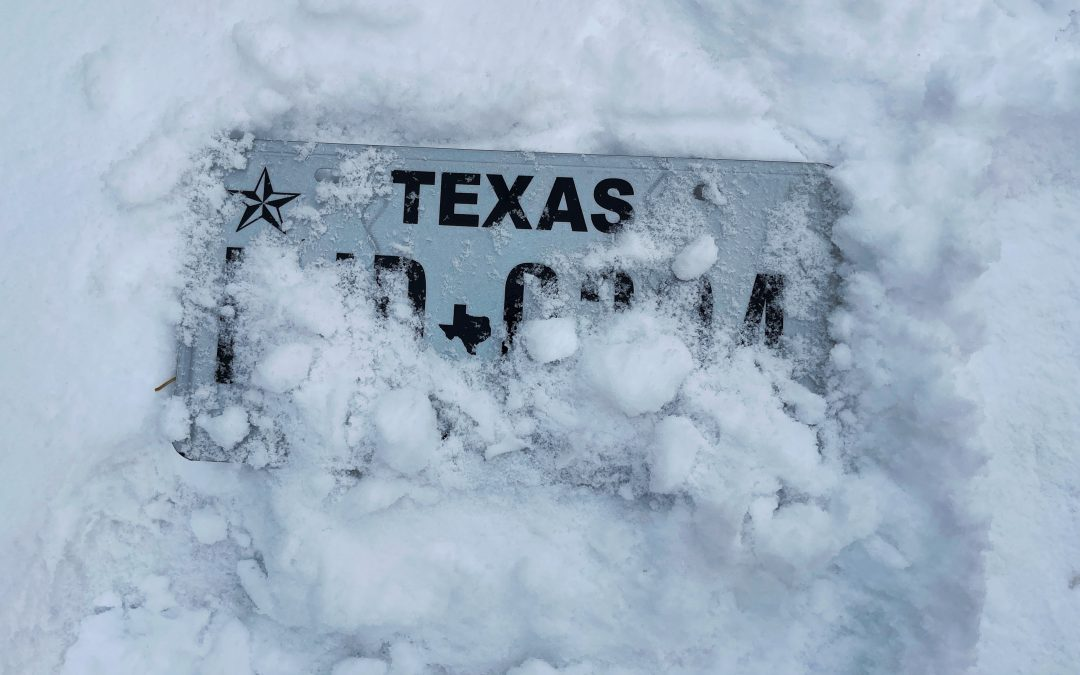 Texas Weather Crisis, Holiday 2020 Review, trust.txt, and more. This Week's Newsletter: February 18th, 2021