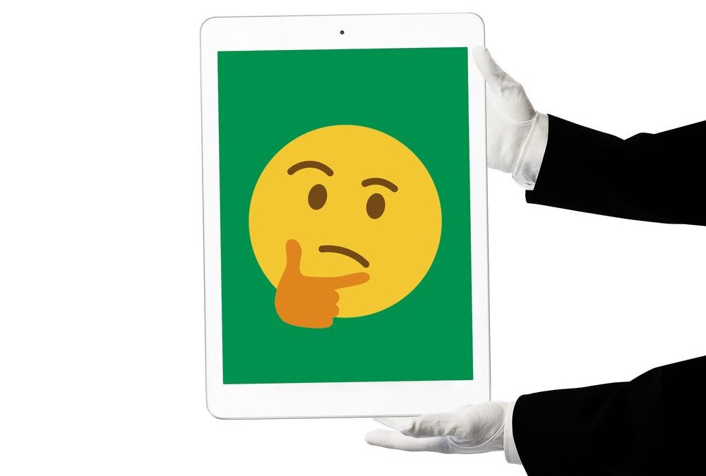 nft person holding digital art face with hand frowning