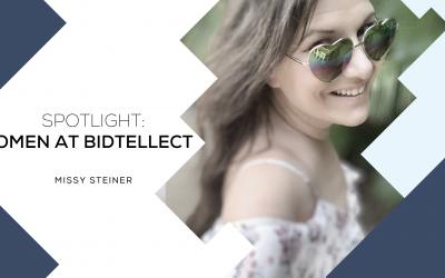 SPOTLIGHT: WOMEN AT BIDTELLECT Missy Steiner