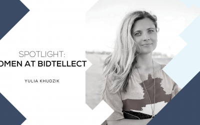 SPOTLIGHT: WOMEN AT BIDTELLECT Yulia Khudzik